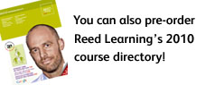 You can also pre-order Reed Learning's 2010 course directory
