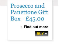 Prosecco and Pantteone Gift Box - £45.00