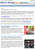 July 2012 Newsletter