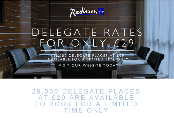 Delegate Rates for only £29