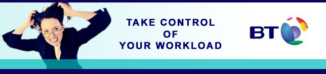 BT Web Conferencing - Take control of your work load