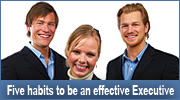 Five Habits of Effective Executives