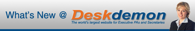 What's New at DeskDemon in June 2007