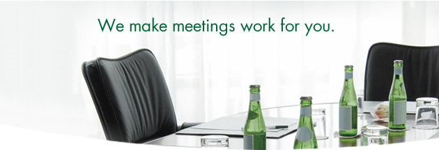 We make meetings for you.