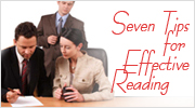 Seven Tips for Effective Reading