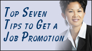 Top Seven Tips to Get a Job Promotion