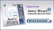Avery® Wizard