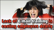 Lack of E-mail Training