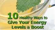 Give Your Energy Levels a Boost