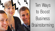 How to boost business brainstorming