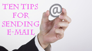 Are you using e-mail correctly?