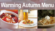 Warming Autumn Menu
