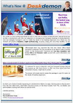 March 2009 Newsletter