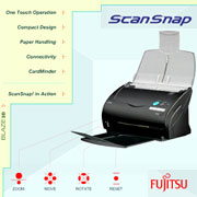 Click to view a 3D Demo of ScanSnap